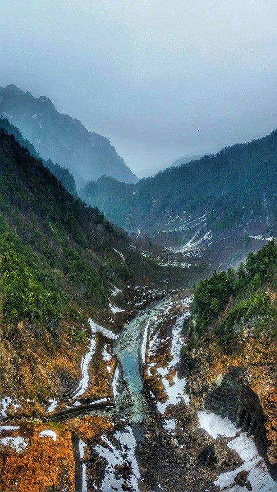 Kurobe alpine route